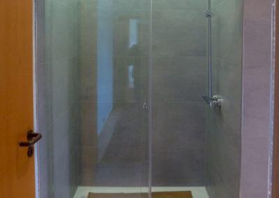 Dusche Nischenanlage Schiebetuer