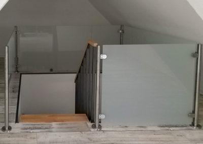 Treppengelaender aus Glas