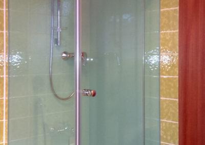 Dusche Glas